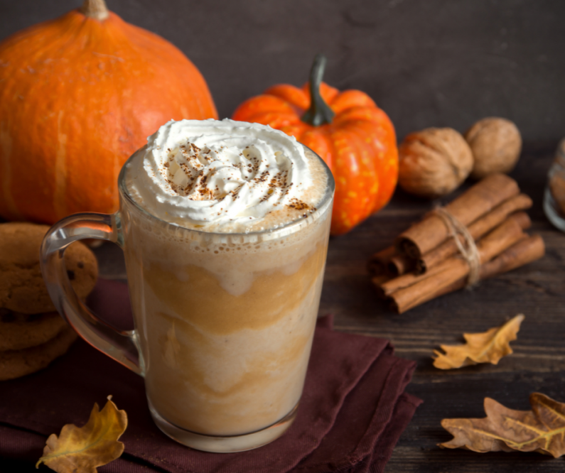 Pumpkin spice latte FB