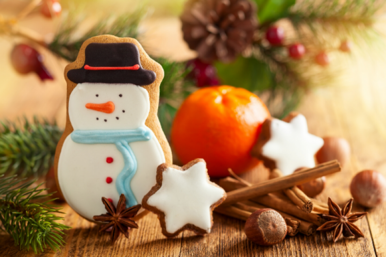 Santa Cookie newsletter